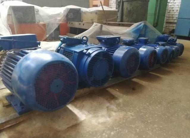 Электродвигатель асинхронный АИР280 М2 132 кВт 3000 об/мин цена купить