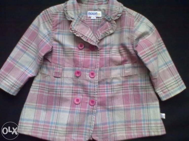 Плащ-пиджак,ветровка детская MOTION wear,р.74