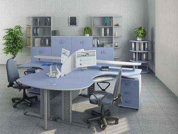 Надёжная, современная офисная мебель на заказ. в любом количестве.