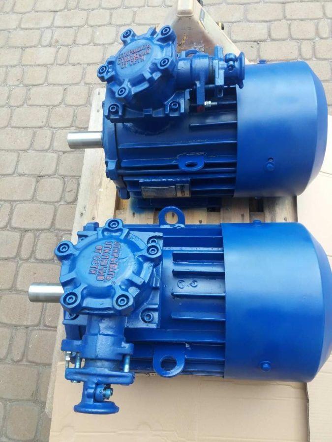 Электродвигатель взрывозащищенный АИУ100 L2 5,5 кВт 3000 об/мин АИМ