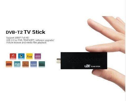 Мини DVB-T2 приставка GOODTV HD Stick, поддержка MP3, MPEG4