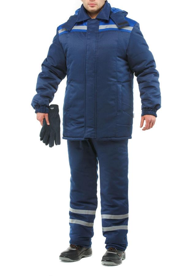 Куртка утепленная со светоотражающими полосами, в наличии
