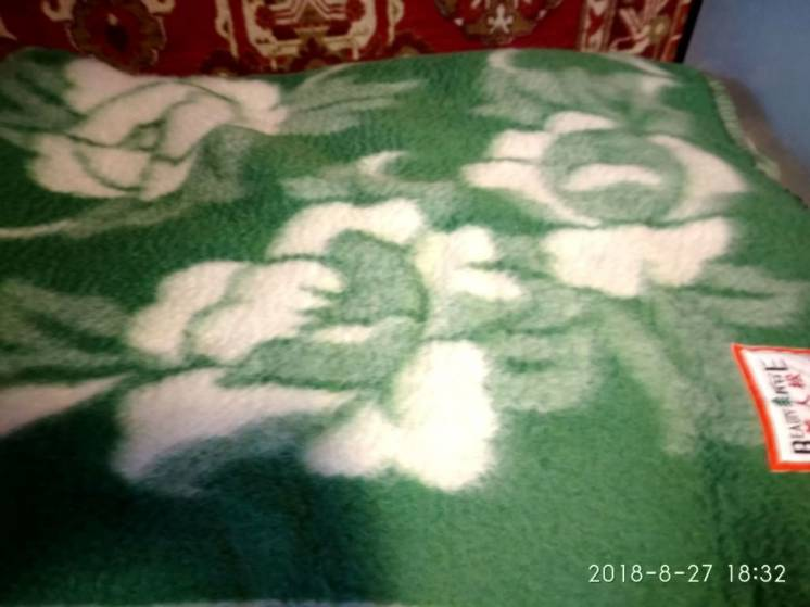 Одеяло 100% шерсть