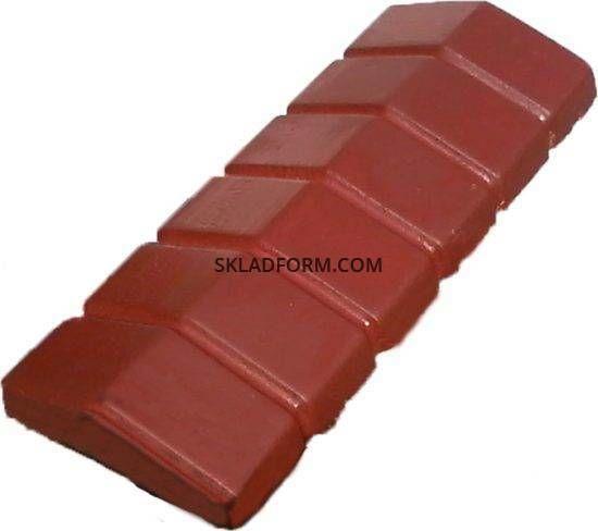Форма крышки столба парапет Батон