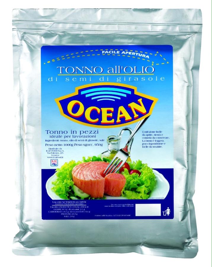 Тунец OCEAN (TONNO ALL'OLIO)  1 к Испания