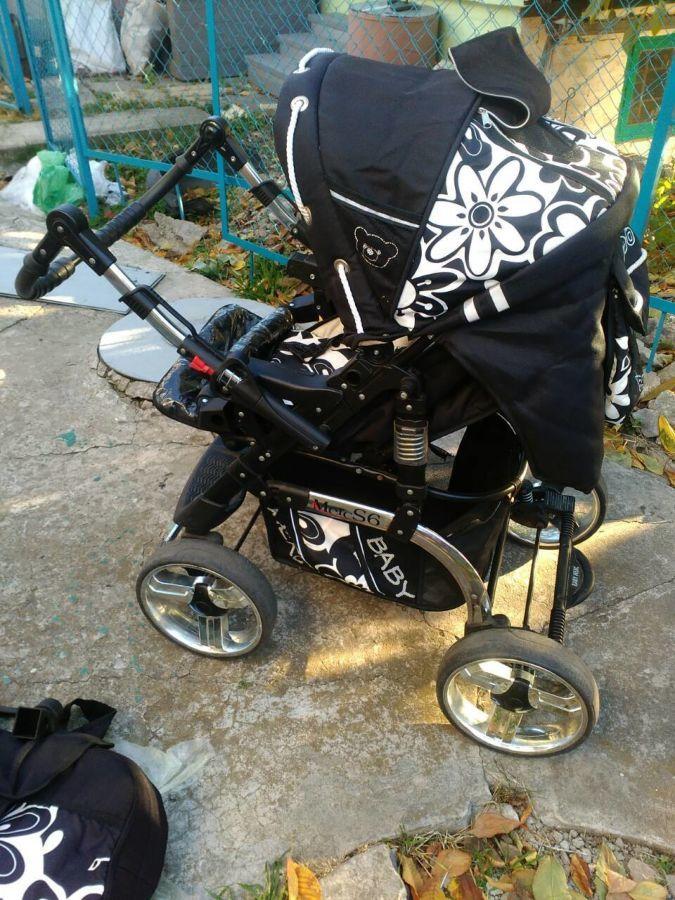 Детская коляска  зима – лето  Merc S6  (2 в 1 )