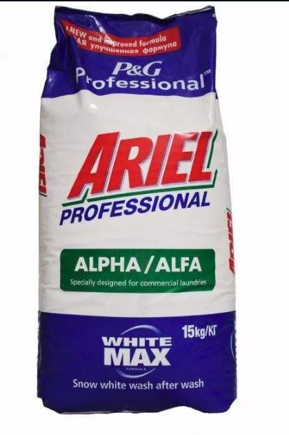 Стиральный порошок Ariel Professional Alpha 15 кг.