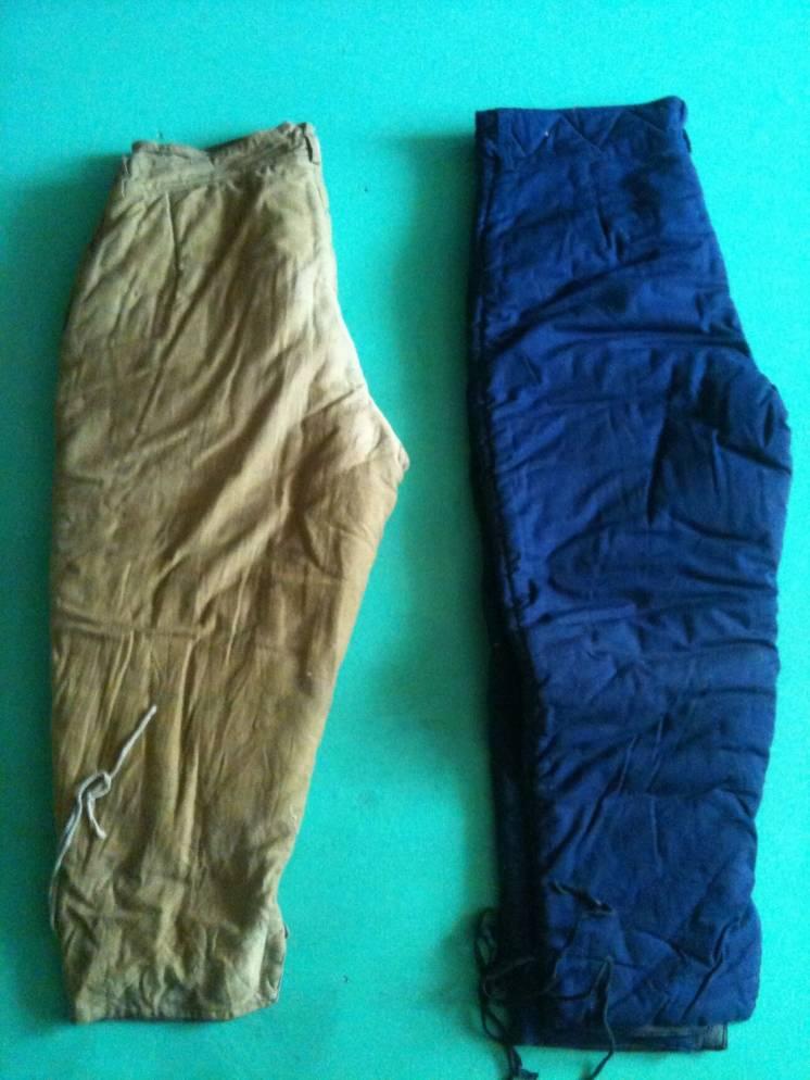 Продам теплые ватные штаны производства СССР
