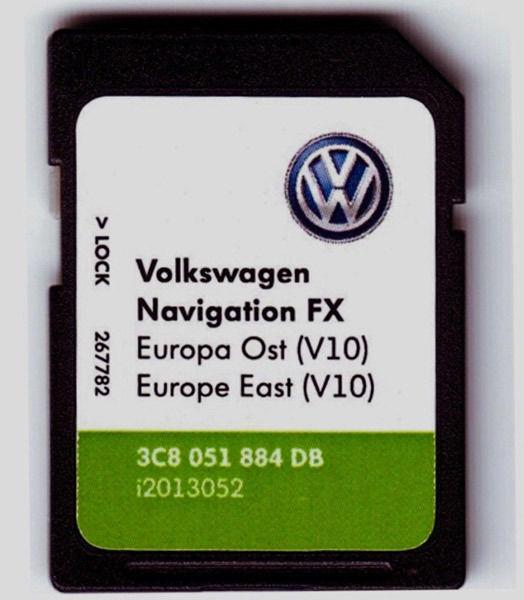 Навигация VW Skoda Seat РНС RNS315 310 510 810 850 COLUMBUS AMUNDSEN 4