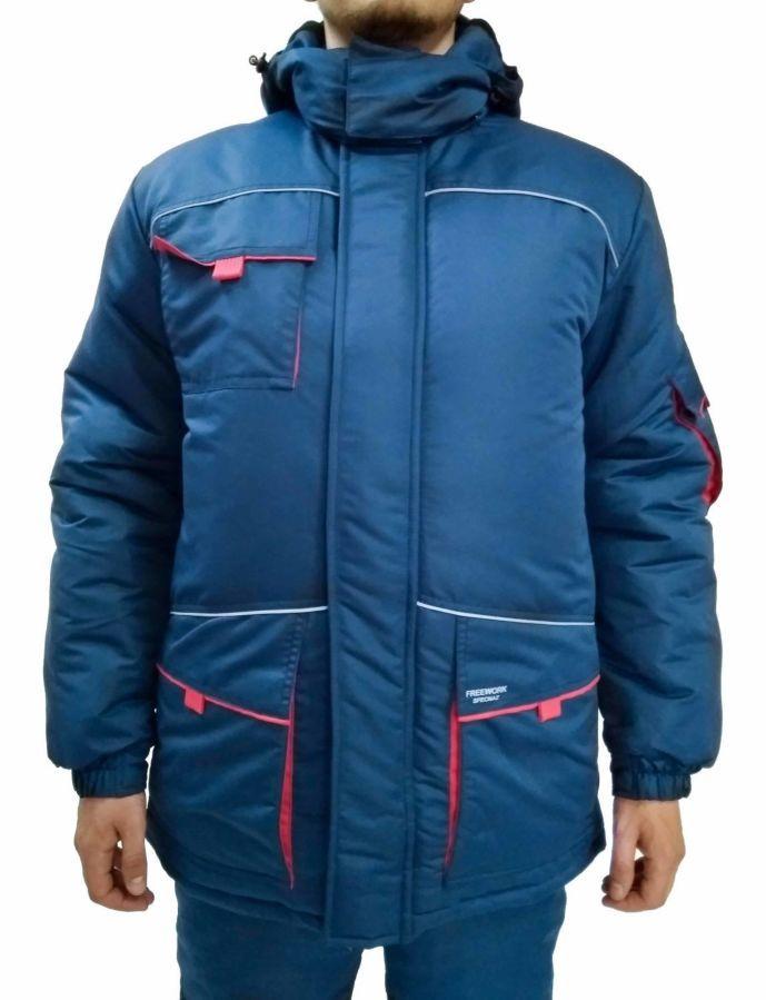 Куртка утепленная, стильная, спецодежда