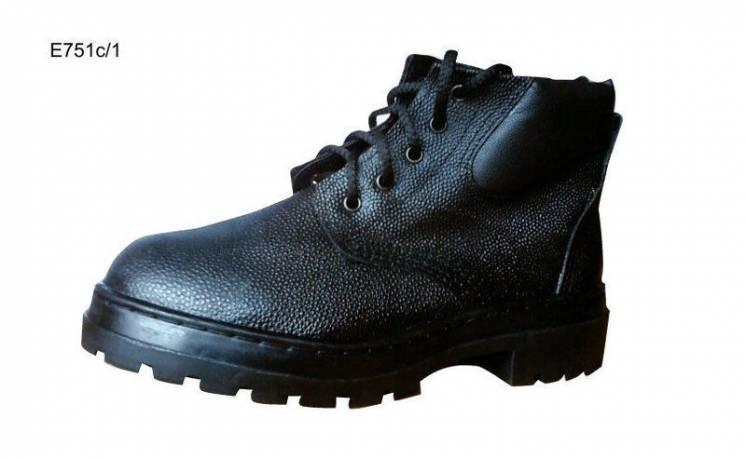 Ботинки рабочие, юфтевые, мужская спецобувь