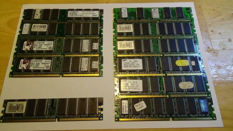 Оперативная память DDR и SDRAM