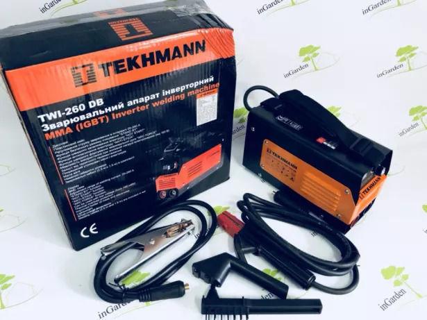 Сварочный Инвертор Tekhmann TWI-260 DB гарантия 36мес Германия 260А