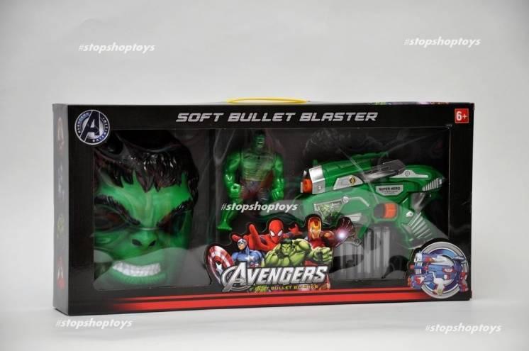 Крутой набор супергероя HULK Халк . Мстители Avengers . Marvel.
