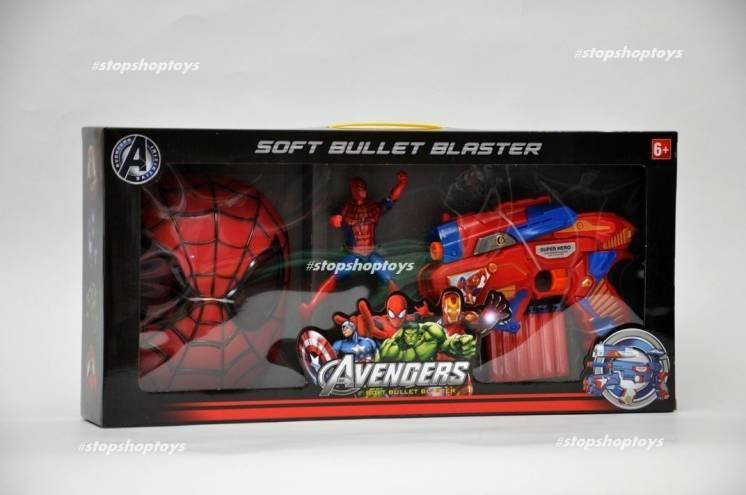 Крутой набор Человек Паук. Мстители Avengers. Marvel.