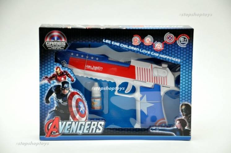 Пистолет супергероя