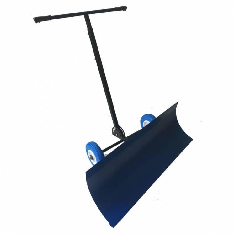 Лопата на колесах с поворотным ковшом для уборки снега