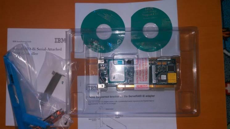 RAID IBM Serveraid-8i Controller