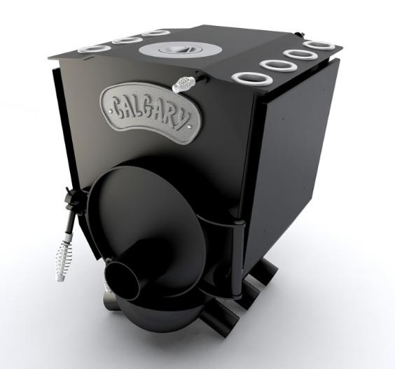 Печь варочная с конфоркой(тип- 00 ЧК) Calgary Lux