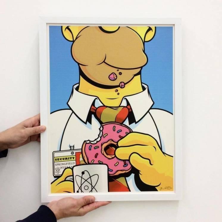 Постеры, картины, плакаты, Рик и Морти, Симпсоны, Futurama, Sponge bob