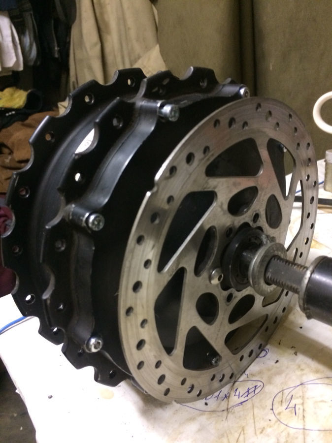 Ремонт мотор колес