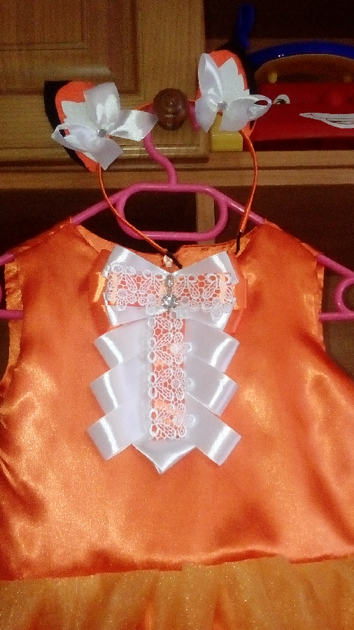 Лисичка платье