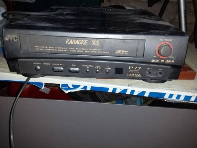 Видео кассетный плейер JVC HR-P77K