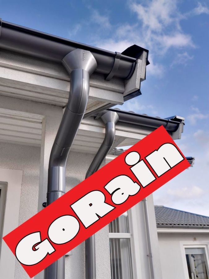 водосточная система металлическая GOrain (гоурейн)