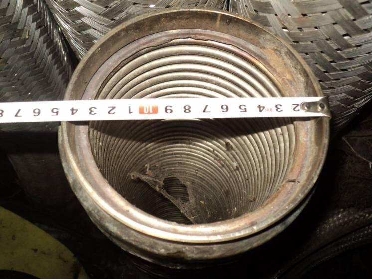 Металлорукав нержавеющая гибкий дымоход шланг гофрированный гофра 140