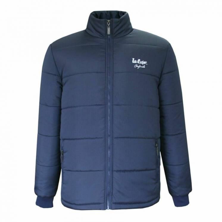 Lee Cooper детская куртка синяя черная. Англия. Оригинал. 134-140 см