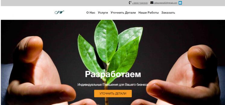 Разработка и изготовление сайта в Каменском