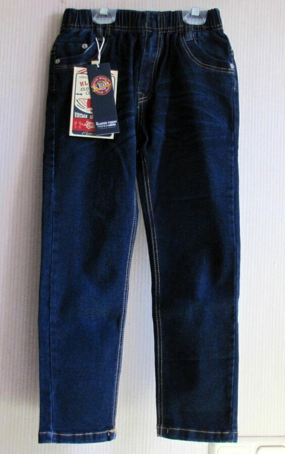 Качественные джинсы, р. 128, от 6 до 8 лет, новые!