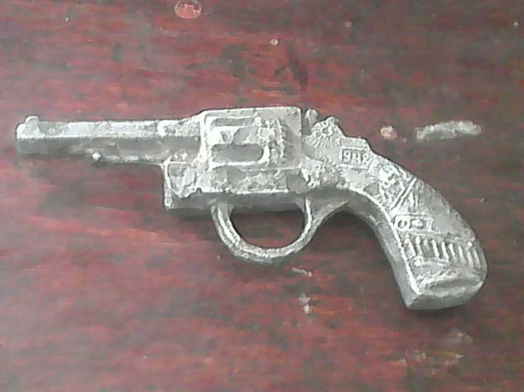 игрушечный револьвер 1948г
