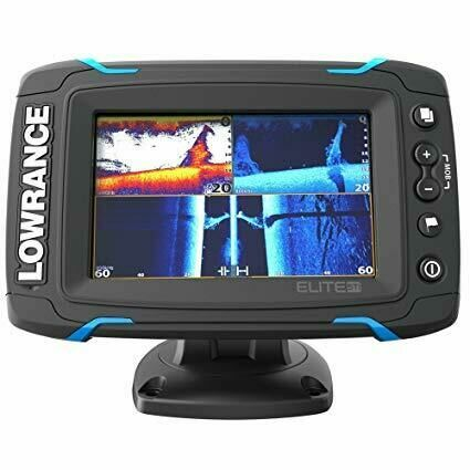 Lowrance Elite 5 ti totalscan