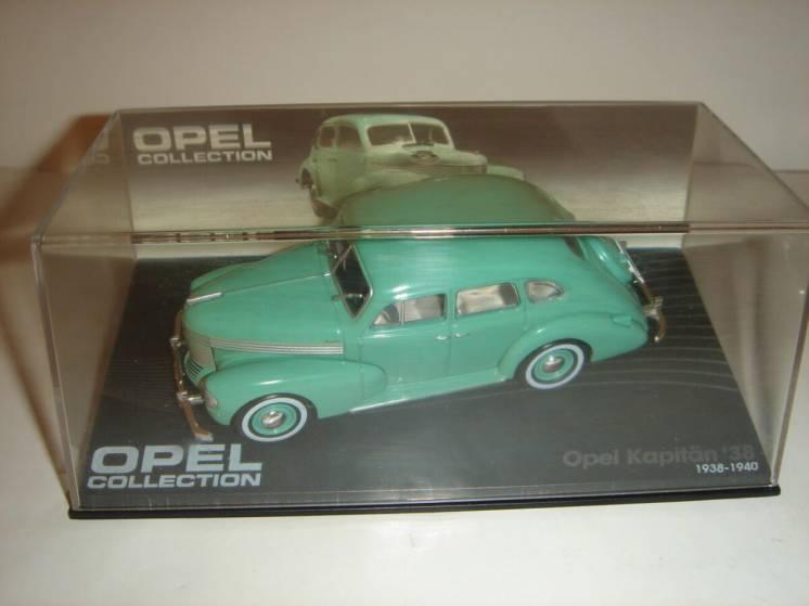 Машинка металлическая Opel Capitan 38. 1:43 1938 – 1940.