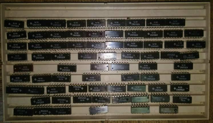 Лоток Коробка для Микросхем МС под Микросхемы СССР Импорт DIP ДИП