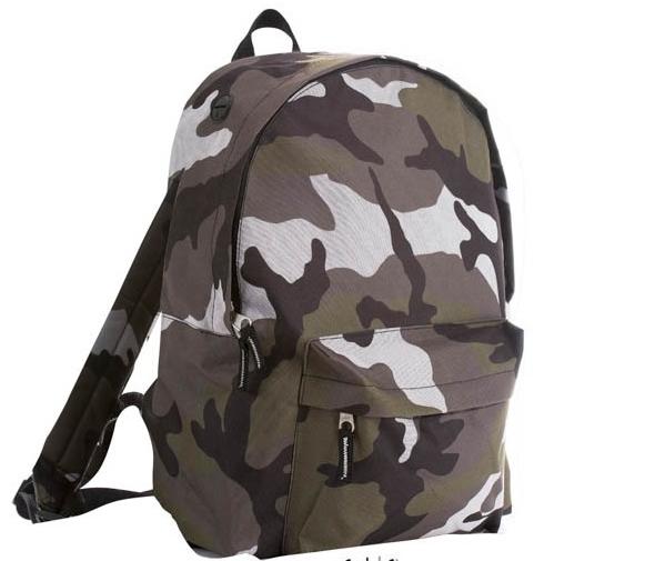 Рюкзак унисекс с карманми в наличии разных цветов