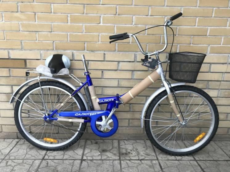 Складной велосипед Салют 24