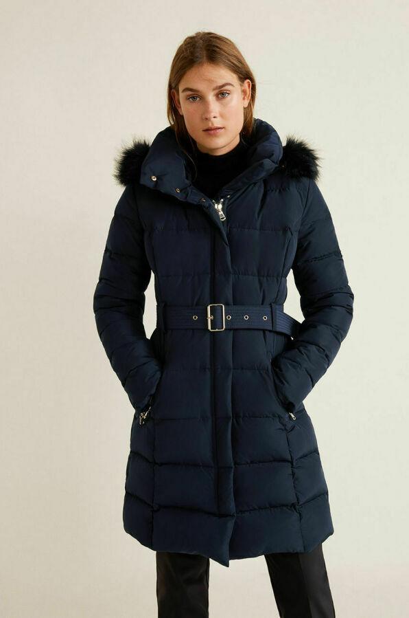 Зимний пуховик Mango р. XS, S куртка, курточка пух