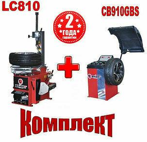 Шиномонтажное оборудование комплект Bright Cb910gbs и Bright Lc810