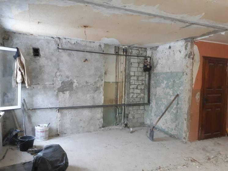 Демонтаж, демонтажные работы в Днепре. Слом полов, стен, перегородок