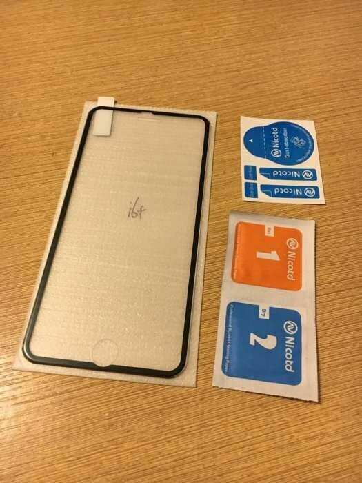 Захисне скло 3D IPhone 6, 6s, 7, 8 plus защитное стекло