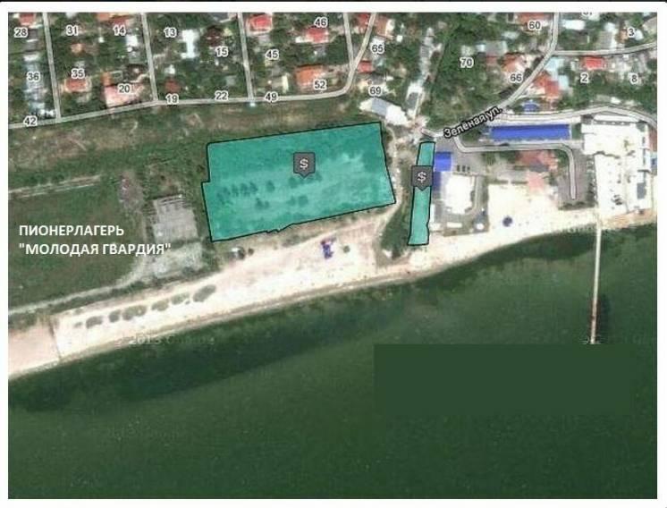 Земельный участок для оздоровительного комплекса в Крыжановке