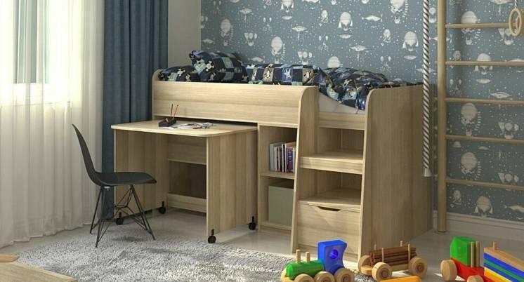 Дитяче ліжко-горище кембридж