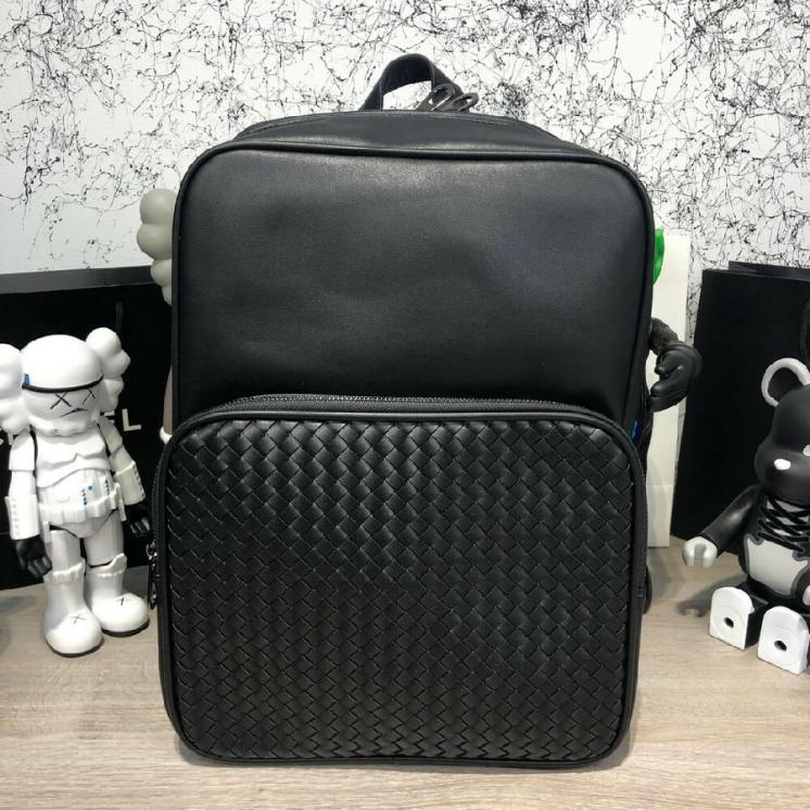 Рюкзак Bottega Veneta Backpack Cervo Medium Double Brick In Ner