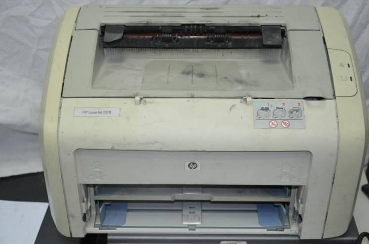Лазерный принтер HP LaserJet 1018