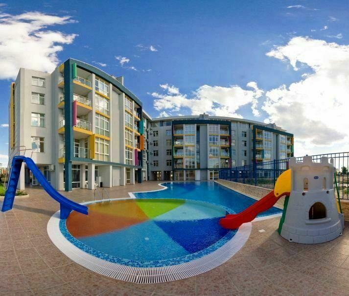 Апартамент с паркоместом на Солнечном берегу в Болгарии