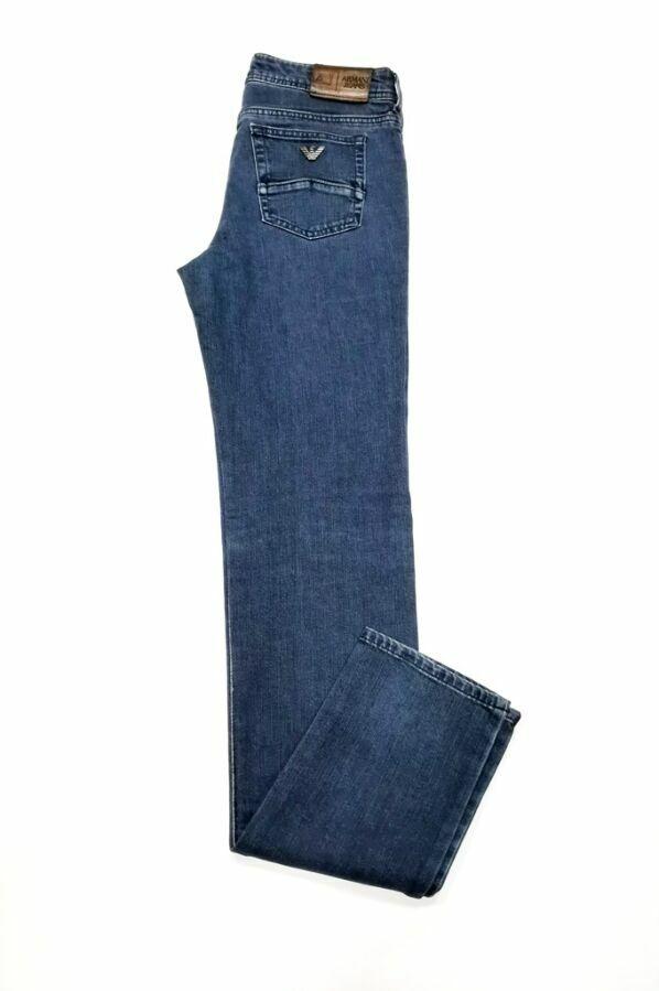 Женские джинсы Armani Jeans, оригинал, цвет - синий.