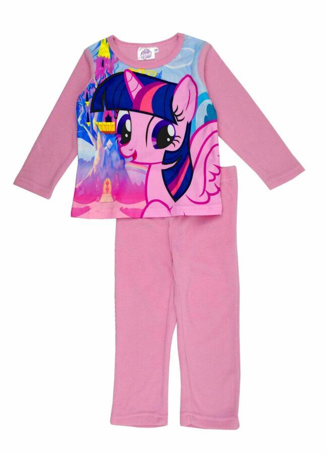 Розовая флисова пижама с пони, My little pony на девочек, Sun City