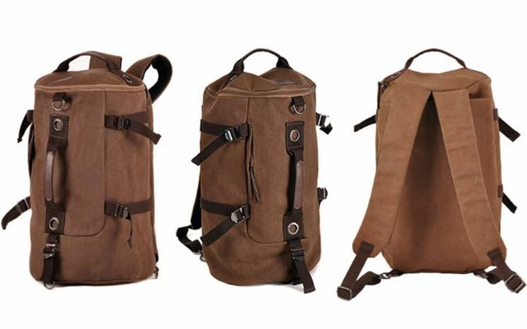 Сумка – рюкзак многофункциональная дорожная спортивная прочная 300D
